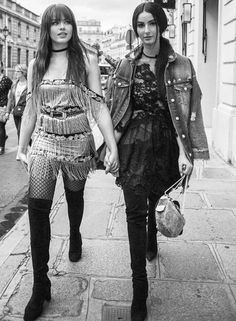 The best best of the week: Kristina Bazan and her partner in crime Fiona Zanetti