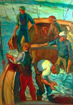 """Pescadores"" Autor: Cleto Ciocchini  #mardelplata #mdq #puerto"