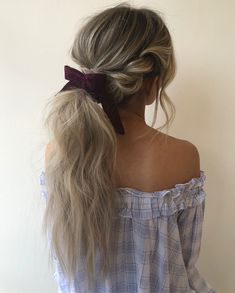 38 Eye-catching hairstyles will change your look - braid hairstyles , hair down hairstyle , braided half up half up hairstyles ,ponytail hairstyle #hairstyle #ponytail #braids #dutchcrown #braidedhairstyle