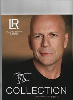 Bruce Willis...I'm writing a movie about him...Very interesting!
