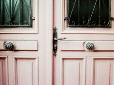 I would like to live in England for many different reasons, one of which is so that I can have doors like these.