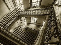 An other inspirational stone staircase from Versailles.  Picture: William Curtis Rolf www.williamcurtisrolf.com