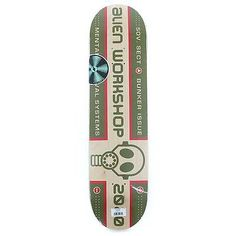 """Alien #workshop #skateboards logo #survival #skateboard deck 8"""" new free delivery,  View more on the LINK: http://www.zeppy.io/product/gb/2/401223486806/"""