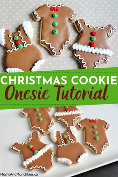 Festive, colorful and absolutely adorable, these easy to make Christmas Cookie Onesie Pops are inexpensive DIY Christmas gifts you can give to friends, colleagues, neighbours and family members! Learn how to make these by checking out our tutorial right here.