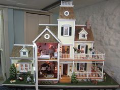 Dollhouse being raffled off by a diabetes charity at $100 a pop.  They say it's valued at $18,000.