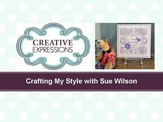 Craft Dies by Sue Wilson -- Tutorial Video; White Wedding Card for Creative Expressions wilson wedding card Craft Dies by Sue Wilson -- Tutorial Video; White Wedding Card for Creative Expressions Card Making Tutorials, Card Making Techniques, Making Ideas, Making Cards, Mixed Border, Sue Wilson Dies, Copics, Flower Cards, Paper Flowers