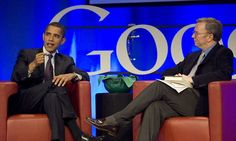 Google and the Obama White House, sitting in a tree?