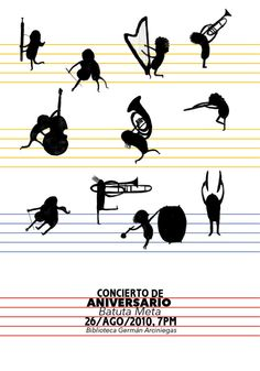 Musical posters - dipacho