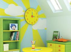 Peinture chambre enfant mathys