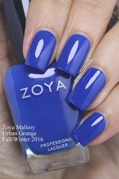 Zoya Mallory - Grape Fizz Nails