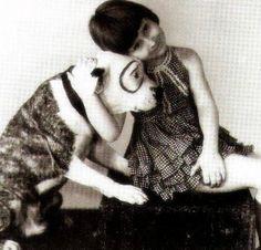 Mary Ann Jackson and Petey