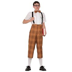 Mr Nerd Men Costume Set - Brought to you by Avarsha.com