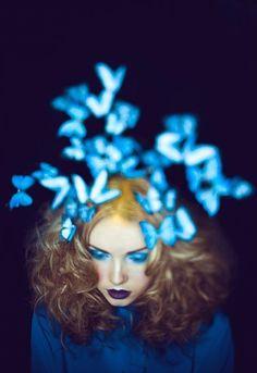 ~Blue butterfly dreams~
