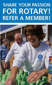 Refer a member. Share your passion