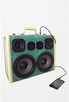 BoomCase Little Green Giant Audio Speaker