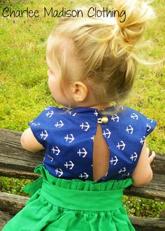 Taylor Skirt/Dress Patterns both Size 6m to 5Y by TheMeanPrincess