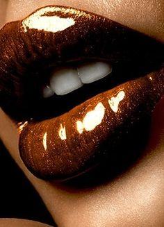 Brown lip