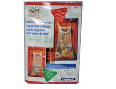 """Back of Door Organizer Toy Plush Storage Laundry Bag by Tidy Kids. $3.99. Bag measures 24"""" x 36""""Features durable white mesh with toggle drawstringMachine washableComes with extenders to lower bag so kids can reach contents"""