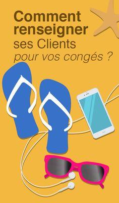 Comment renseigner ses clients pour vos congés ?  - Article du blog de www.resonancecommunication.com agence web à Carcassonne