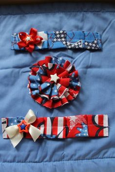 Fourth of July Headband. $7.50, via Etsy.