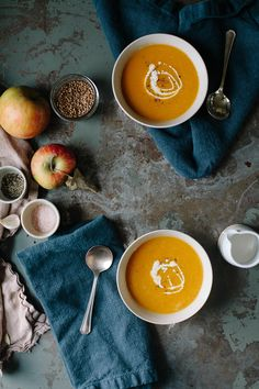 A Daily Something | Recipe - Butternut Squash Apple Soup
