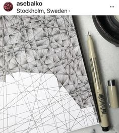 New week, new doodle! - New week, new doodle! - You possibly can work with the pencil drawing. Dibujos Zentangle Art, Zentangle Drawings, Doodles Zentangles, Doodle Drawings, Easy Drawings, Ink Doodles, Easy Zentangle, Cool Doodles, Doodle Patterns