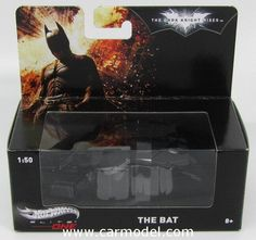 MATTEL HOT WHEELS BCJ82 1/50 BATMAN BATMOBILE FLYING VEHICLE - THE DARK KNIGHT RISES Skala:: 1/50Code: BCJ82Farbe: MATT BLACKMaterial: Die-CastAnmerkung: TV SERIES ELITE SERIES