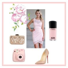 Wedding Date by nicoleannjones on Polyvore featuring Christian Louboutin, Fujifilm and lace