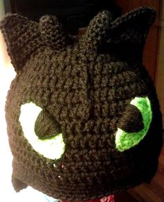 Toothless How To Train Your Dragon by halfcaffcrochet on Etsy, $25.00