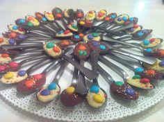 כפית שוקולד ציבעונית - מתוק מהלב - תפוז בלוגים