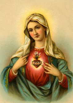 Sacred Heart of Mary by Michele.oliveira82, via Flickr