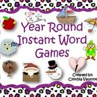The 1,000 Instant Words are broken down into groups of 100.  Each group has a monthly theme:    September - Rotten Apples  #Games #reading