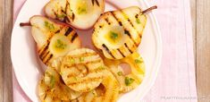 Grillowane owoce z ostrym sosem limonkowym Pineapple, Grilling, Fruit, Food, Pine Apple, Crickets, Essen, Meals, Yemek