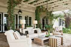 Covered Outdoor Living Rooms   10 Ways to: Transform your outdoor living space