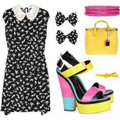 Harajuku Color, created by leiastyle on Polyvore