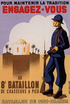 """French  WW2  """"To maintain the tradition. The 8th Battalion"""""""