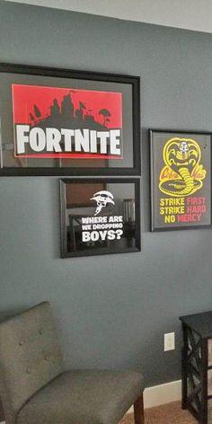 Boy S Fortnite Themed Bedroom Boy S Bedroom Ideas In
