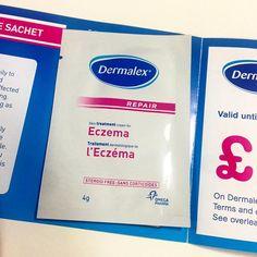 Free sachet of Dermalex skincare.  www.magicfreebies.co.uk