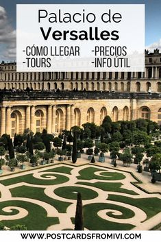 Datos útiles para visitar Versalles desde París #palaciodeversalles #paris #viajes #europa
