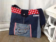 < MARIA >  Umhängetasche aus Jeans
