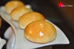 Welcome to Jinkzz's Kitchen: No Knead Pork Asado Buns (aka baked Siopao)