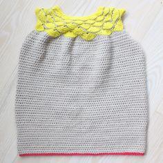 Hæklet kjole fra Blødt til baby