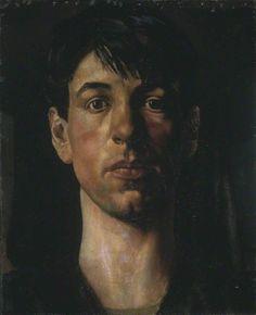 stanley spencer(1891–1959), self-portrait, 1914. oil on canvas, 63 x 51 cm. tate, uk http://www.bbc.co.uk/arts/yourpaintings/paintings/self-portrait-201963