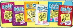Chloe loves the Dork Diaries series. Some have called it the girl version of Diary of a Wimpy Kid