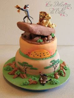 The Lion King cake Lion Party, Lion King Party, Lion King Birthday, Leo Birthday, Birthday Parties, Lion Guard Birthday Cake, Birthday Ideas, Lion Cakes, Lion King Cakes