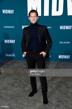 Luke Kleintank attends the premiere of Lionsgate's