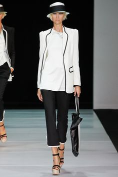 Emporio Armani Spring 2012 Ready-to-Wear - Collection - Gallery - Style.com