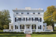 """The Topping Rose House is one of the best places to visit in the Hamptons. The 1842 house exudes that """"Old Hamptons"""" feel, and glamour."""