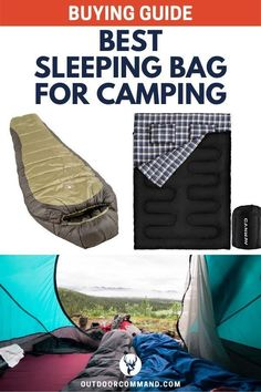 camp with toddlers Best Sleeping Bag for Camping for men, women, or for kids. Outdoor Life, Outdoor Camping, Outdoor Gear, Camping Outdoors, Outdoor Living, First Time Camping, Camping Gear, Camping Trailers, Camping Essentials