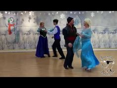 How to dance the Bohemian Polka, a Frozen historically accurate cartoon princess ballroom dance for Anna, Elsa, Sven, and Hans from Frozen.